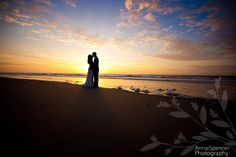 Anna and Spencer Photography, Sea Island Wedding. Sunrise. Day After Session: portrait of the bride & groom after the wedding day.