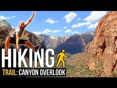 Follow along as I make my first visit to Zion National Park in Utah. My first hiking experience begins at the Canyon Overlook trailhead. This easy 1 mile trail leads me to a million dollar view over the canyon below. Make sure you watch it to the end to see what I'm talking about!