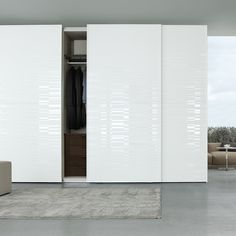 glossy white sliding closet doors - Google Search