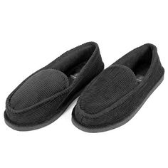 Corduroy Slip-On Slippers - Assorted Sizes at 70% Savings off Retail!