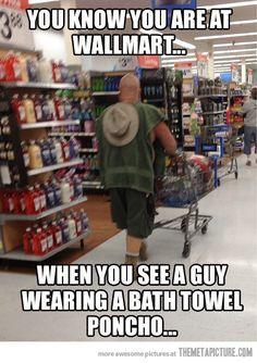 Walmart people…