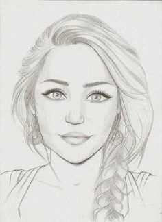 Reminded me of you cool drawings, drawing faces, girl face drawing, drawing girls Pencil Art Drawings, Drawing Faces, Art Drawings Sketches, Cool Drawings, Pencil Sketches Of Faces, Sketches Of Girls Faces, Drawing People Faces, Female Face Drawing, Girl Face Drawing