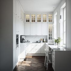 Johannes Lindqvist on Behance Swedish Interior Design, Swedish Interiors, Interior Design Studio, Home Decor Kitchen, Kitchen Interior, Kitchen Design, Country Kitchen, Kitchen Ideas, Kitchen Installation