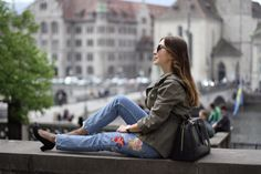 OLD TOWN ZURICH One Step, What To Pack, Zurich, Petite Fashion, Old Town, Travel Ideas, Switzerland, National Parks, Bomber Jacket