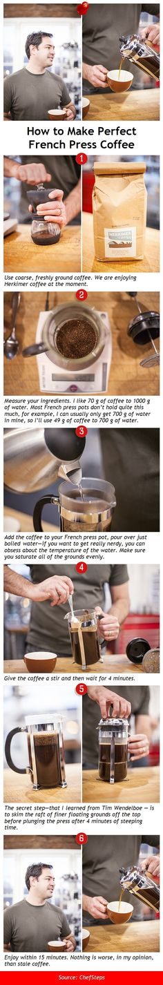 How to Make Perfect French Press Coffee