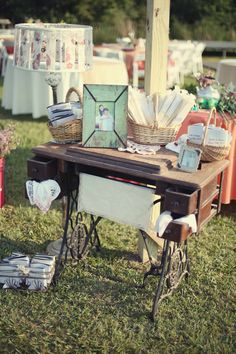 i think we have this table/sewing machine