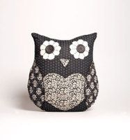 The Gift Emporium | Rakuten.co.uk Shopping: Sass & Belle Patchwork Owl Cushion & Filler
