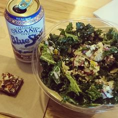Greek Salad and Root Beer with chocolate dessert! Eating healthy is NOT Deprivation!!! @nativesunjax #nativesun #chocolate #eating #lunch