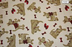Dog Flannel Fabric Dog blanket Flannel Multi dog Flannel - SHIPS FAST by FabricPremier on Etsy