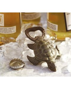 Add some fun to your bar with this turtle bottle opener. Buy it here: http://www.bhg.com/shop/pottery-barn-turtle-bottle-opener-p50ab94bbe4b0d287f5786591.html?socsrc=bhgpin112312turtlebottleopener