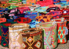 Wayuu Crochet bags from Colombia