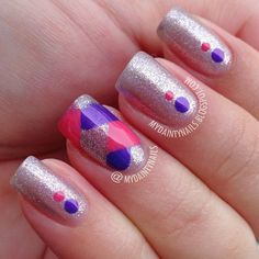 Instagram photo by mydaintynails #nail #nails #nailart