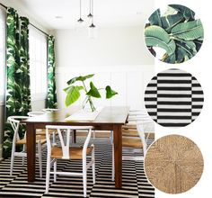 PRINT + PATTERN :: 5 WAYS TO STYLE BANANA LEAF PRINTS - coco+kelley