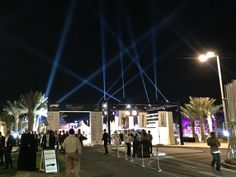 Entrance of the Show