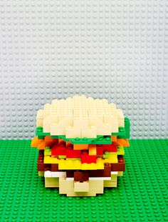 """This issue is called """"The Kids' Menu"""" which gave explains the burger built with Lego bricks. Aside from that, the magazine cover is very bright and colorful, which is always appealing to kids. Catalogue Design, Lego Food, Magazine Cover Design, Magazine Covers, Cool Magazine, Magazine Website, Design Typography, Kids Menu, Newspaper Design"""