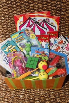 Fun prizes from a Circus Party!    See more party ideas at CatchMyParty.com!  #partyideas #circus