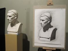 Thomas More College Students Artwork – Academic Drawing — The Way of Beauty The Way of Beauty