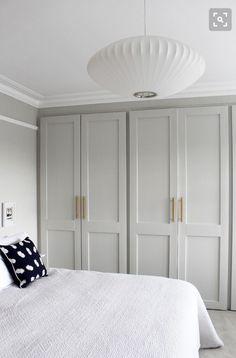 Master Bedroom Closet Doors Home 48 Trendy Ideas Bedroom Built In Wardrobe, Bedroom Closet Doors, Bedroom Cupboards, Home Bedroom, Bedroom Ideas, Modern Bedroom, Bedroom Inspo, Contemporary Bedroom, Bi Fold Closet Doors