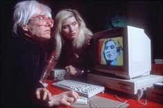 Warhol & The Computer: Andy Warhol Creates a Portrait of Debbie Harry Using ProPaint on an Amiga 1000 at the 1985 Amiga Launch
