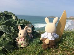 Photo Competition, Sylvanian Families, Bunny Toys, Kewpie, Cute Toys, Pets, Drawings, Outdoor Decor, Aesthetics