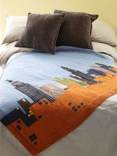 NYC Skyline Afghan FREE PATTERN CHART