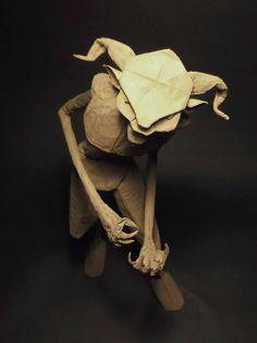 Fauno  (designed by Sipho Mabona, folded by João Charrua) origami