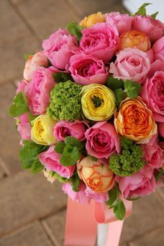Lovely color bouquet