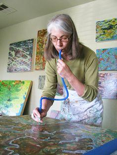 Marlene working
