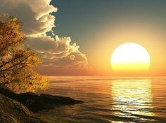 Sunrise in Australia