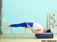 Reduce anxiety and panic attacks with these tension-taming yoga poses. Anxiety Panic Attacks, Iyengar Yoga, My Yoga, Asana, Stress And Anxiety, Yoga Poses, Pilates, Workout, Restore