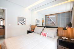 Dom Cambuí - Campinas/SP. Loft de 1 dom. sacada gourmet, sala integrada. Veja mais fotos em @apedecoradooficial