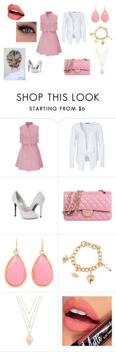 """""""Outfit #9"""" by taylor-ross115 on Polyvore featuring Soaked in Luxury, Kate Spade, H.Stern, Forever 21 and Fiebiger"""