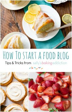 How To Start a New Food Blog