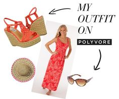 """Steve Madden P-Mauii in Coral"" by makobiscribe on Polyvore"