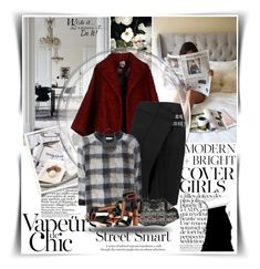 """""""...Street Chic..."""" by vanjazaric6886 ❤ liked on Polyvore featuring Anja, Stella Jean, Belstaff, Moncler, Alexander McQueen, Tom Ford, WALL, Trilogy and Karolina Bik Jewelry"""
