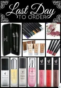 Today is the last day to order from my Younique online party! Don't wait to get…