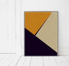 Printable Scandinavian Modern art, Scandinavian wall decor, Digital download art print, Minimalist wall art print, Geometric wall art print