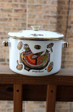 MidCentury Modern Georges Briard Stock Pot by moderncraftodyssey, $ 15.00