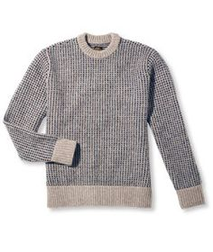 #LLBean: Signature Matinicus Rock Sweater, Crewneck