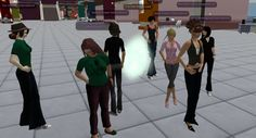 Virtually Hyperconnected project looking at running assessment in a virtual world