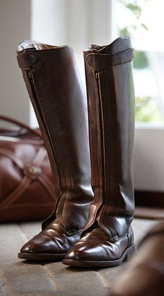 Do you need to know how to play Polo to wear riding boots? Mens Riding Boots, Horse Riding Boots, Cowgirl Boots, Western Boots, Sock Shoes, Men's Shoes, Shoe Boots, Tall Boots, High Boots