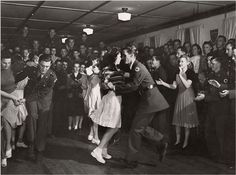 swing dancing-- I think I missed out on my era. This is dancing!