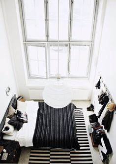 lily's bedroom |   oh what I would do for those high ceilings and windows!