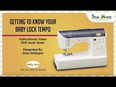 Sneak Peek: Getting to Know Your Baby Lock Tempo