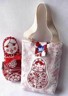matryoshka bag and doll