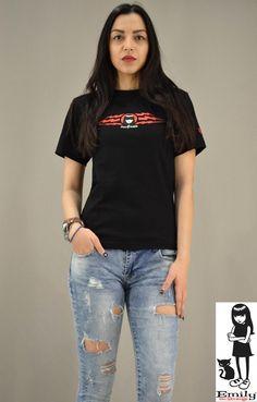 Γυναικείο t-shirt Emily Strange Thunder Emily Strange, Thunder, T Shirt, Tops, Women, Fashion, Supreme T Shirt, Moda, Tee Shirt