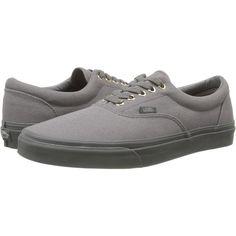 9d4745d1c56d83 Vans Era Black Grey) Skate Shoes