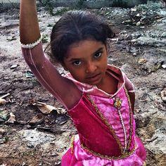 A princesa bailarina . Foto de Chris Alcazar