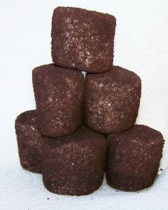 Oreo-dusted Marshmallows.  Had these at The Melting Pot!