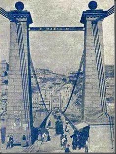 Gustave Eiffel, Ponte Pensil, Porto City, Porto Portugal, Iberian Peninsula, Douro, City Break, Atlantic Ocean, Old Pictures